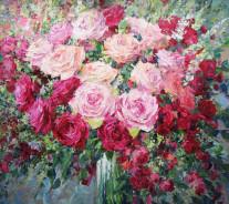 «Розы» 80х90см