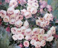 «Розы» 100х120см