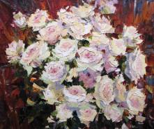 «Розы» 50х60см