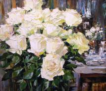«Розы» 60х70см